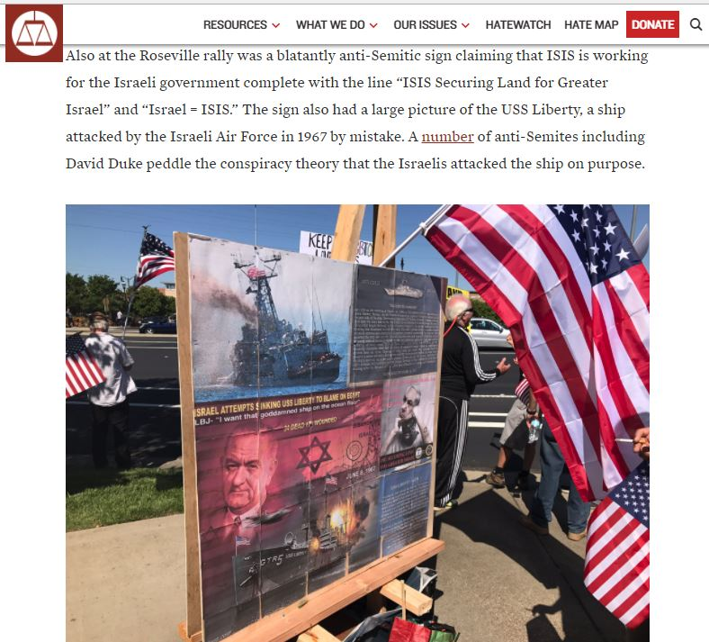 SPLC article including the mobile redpill